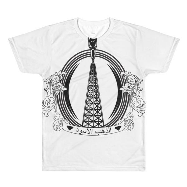 Sublimation men's crewneck t-shirt